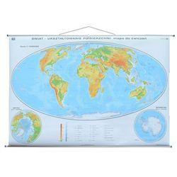 Świat mapa ścienna fizyczna 1: 19 000 000 Nowa Era
