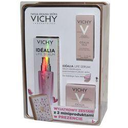 Zestaw Promocyjny Vichy Idealia Life, serum + krem wygładzający + krem pod oczy GRATIS