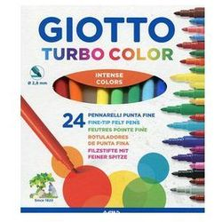 Giotto Flamastry Turbo Color 24 sztuki