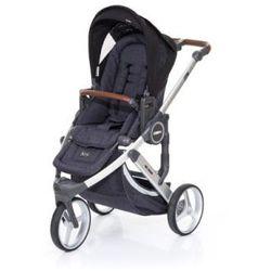 ABC DESIGN Wózek dziecięcy Cobra plus street-black, stelażsilver / siedzisko street
