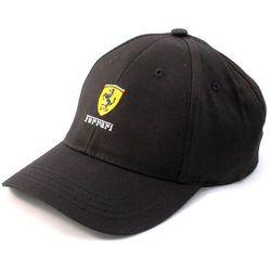 Czapka baseballowa czarna Ferrari F1 Team