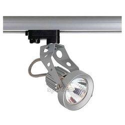 Reflektorowa LAMPA sufitowa AERO GU10 151017 Spotline ścienna OPRAWA spot do systemu szynowego 3-fazowego srebrnoszary
