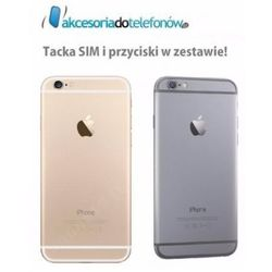 APPLE IPHONE 6 OBUDOWA TYŁ PANEL TYLNY PLECY BACK