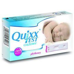 Quixx, test ciążowy płytkowy, 1 szt