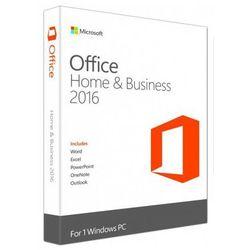 Microsoft Office Home & Business 2016 PL Win 32-bit/x64 PKC T5D-02439