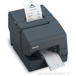 Epson TM-H 6000IV, USB, RS232, cutter, MICR, black