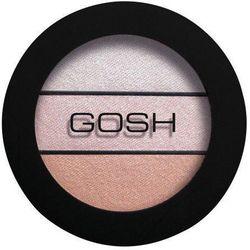 GOSH Eyelight Trio - Potrójne cienie do powiek 001 Three Of A Kind