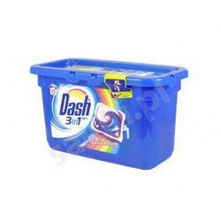 DASH Ochrona kolorów - Żelowe kapsułki do prania 3w1 - 15 szt