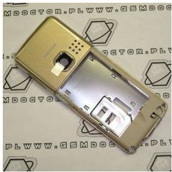 Obudowa Nokia 6300 środkowa / korpus złoty
