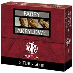 Farby akrylowe ASTRA Tuba 60 ml Kadmium Czerwony