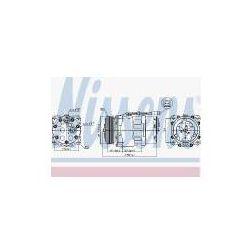 NISSENS Kompresor, klimatyzacja - 89055