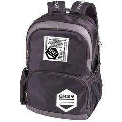 Easy, Plecak szkolno-sportowy, czarny