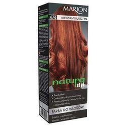 Marion Farba do włosów Natura Styl nr 676 miedziany bursztyn