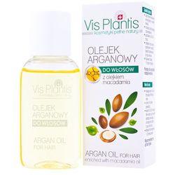 VIS PLANTIS Olejek do włosów OLEJEK ARGANOWY z olejkiem macadamia - każdy rodzaj włosów 30ml