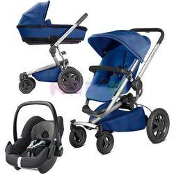 Wózek wielofunkcyjny 3w1 Buzz Xtra + Pebble Quinny (Blue Base)