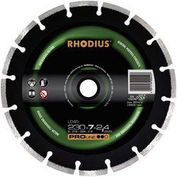 Tarcza tnąca diamentowa, Rhodius LD 40 394137, O 125 mm / 22,23 mm, grubość 2,2 mm