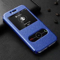 View Flip Niebieski   Etui z klapką dla Huawei Honor 5X - Niebieski