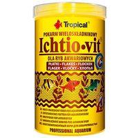TROPICAL Ichtio-Vit w płatkach - pokarm podstawowy w płatkach dla rybek 12g