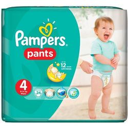 PAMPERS Pants 4 Maxi 24szt Pieluchomajtki