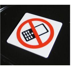 Piktogram, Symbol, Znak - Zakaz używania komórek