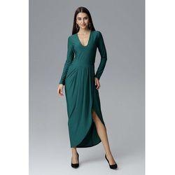 e02dd57f7a suknie sukienki dluga sukienka rozcieciem - porównaj zanim kupisz