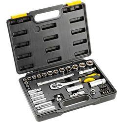 Zestaw kluczy nasadowych TOPEX 3/8 cala 38D641 (39 elementów)