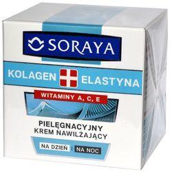 Soraya Kolagen + Elastyna, krem nawilżający z witaminami A i E, 50 ml