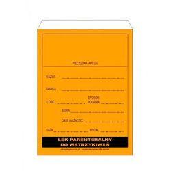 Torebki papierowe do leków parenteralnych x 100 sztuk (rozmiar 9)