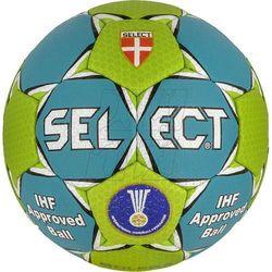 Piłka ręczna SELECT Solera niebiesko-zielona