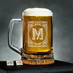 Monogram 2 - Personalizowany Kufel - Kufel do piwa