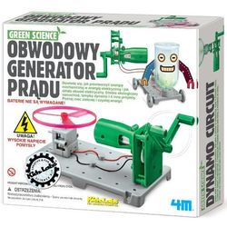 Zabawka 4M Green Science Obwodowy generator prądu