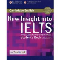 New Insight into IELTS Student's Book with answers - Jakeman Vanessa, McDowell Clare (opr. miękka)
