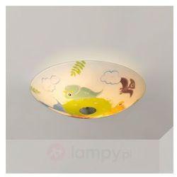Dziecięca lampa sufitowa DINOLAND z dinozaurami