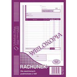 Rachunek dla zwol. podmiot. z Vat Michalczyk&Prokop 223-3 - A5 (wielokopia)