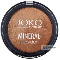 JOKO - MINERAL POWDER - Mineralny puder ROZŚWIETLAJĄCY - SPIEKANY - 06 - DARK BRONZE