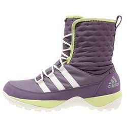 adidas Performance CW LIBRIA PEARL CP Śniegowce ash purple/chalk white/frozen yellow