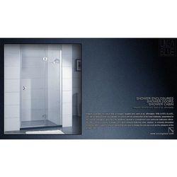 DRZWI PRYSZNICOWE AXISS GLASS AN6221H 900mm