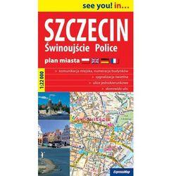 Szczecin Świnoujście Police plan miasta 3 w 1 1:22 000