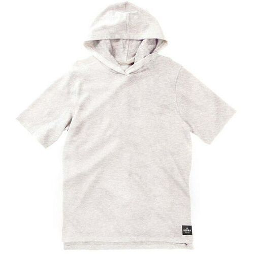 bluza SUPRA - Upper Cut Ss Hood Oatmeal Heather (041) rozmiar: L