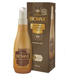Biovax Naturalne Oleje Argan, Makadamia, Kokos, Nutriquick, odżywka dwufazowa, bez spłukiwania, 200 ml
