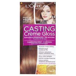 Loreal Paris Casting Creme Gloss Farba do włosów bez amoniaku Opalizujący Karmel nr 723