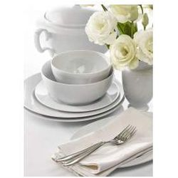 Zestaw obiadowy dla 12 osób porcelana MariaPaula Biała