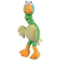 Pluszowy ptak o elastycznej głowie - wydaje dźwięki - 30 cm