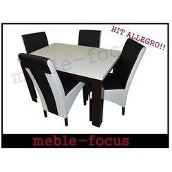 Zestaw AMADEUS I (4 krzesła/stół 80x120/160)
