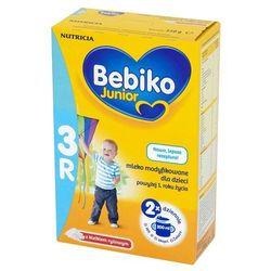 BEBIKO 350g 3R Junior Mleko modyfikowane z kleikiem ryżowym powyżej 1