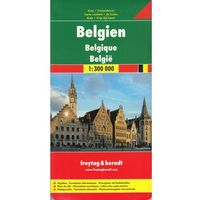 Belgia mapa 1:300 000 Freytag & Berndt (opr. twarda)