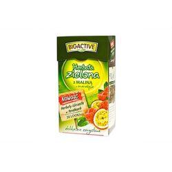 Bio-Active Zielona z owocem Maliny Ex20