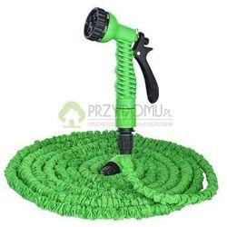 Wąż ogrodowy rozciągliwy TRICK HOSE 5-15m zielony