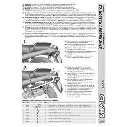 SHAD SHW0RR82ST Stelaż kufra centralnego Big BMW R 850/1150 R