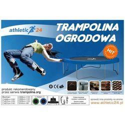 ATHLETIC24 244 cm - Trampolina ogrodowa